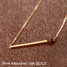 [Fine Mouche]Match 14k Gold Necklace