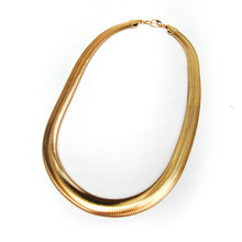 Vintage Gold Wide Chain N