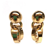Gold Rings Earring