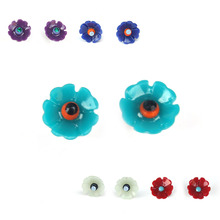 Shy Flower Earring