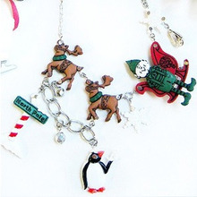 [Christmas 40% SALE]Rudolph Necklace