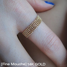 [Fine Mouche] Ball Chain Ring
