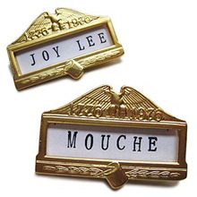 Name Tag Brooch
