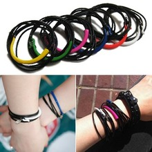 NEON COLOR Leather Bracelet
