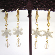 [Christmas 20% SALE]Snow Drop Earring