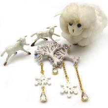 [Christmas 30% SALE]Snow Tree Brooch