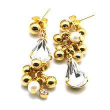 Gold Tassel Small Earring