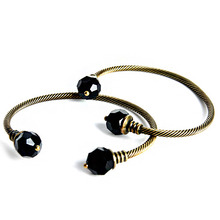 Black Ball Bangle
