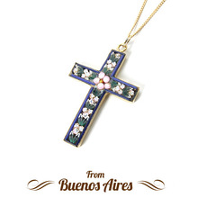 Firenze Cross Necklace