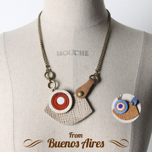 Argentina Leather Necklace 2