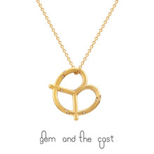 30%SALE[gem and the cast] Pretzel & Salt