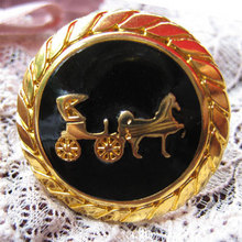 Horse Carriage Ring