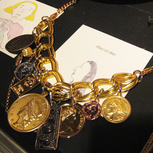Coins Bracelet also Necklace